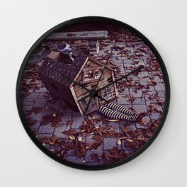 Wicked Witch of The East Wall Clock