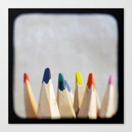 Pencils Photograph Canvas Print
