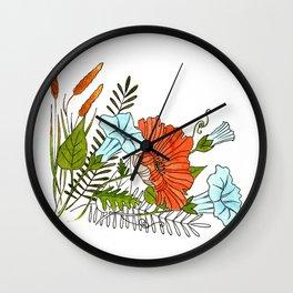 Meadow Sweets Wall Clock