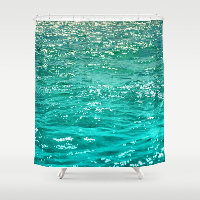 SIMPLY SEA Shower Curtain by catspaws | Society6