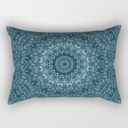 flowing lines pattern 3 Rectangular Pillow