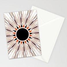 Black star  Stationery Cards