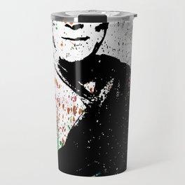 Dalai Lama-Watercolor Travel Mug
