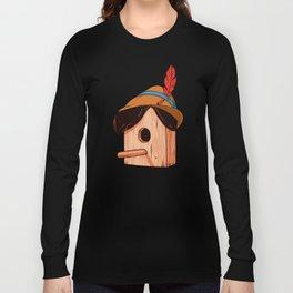 Woodpecker´s house Long Sleeve T-shirt