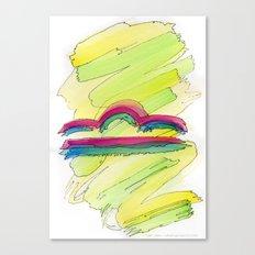 Libra Flow Canvas Print