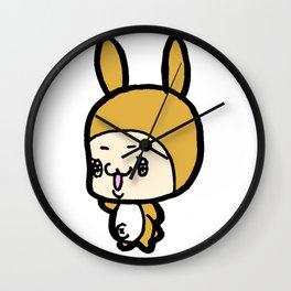 The Rabbit KURI Wall Clock
