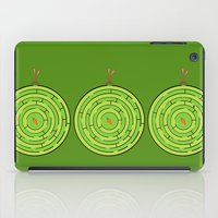 labyrinth iPad Cases featuring Labyrinth by KATUDESIGN
