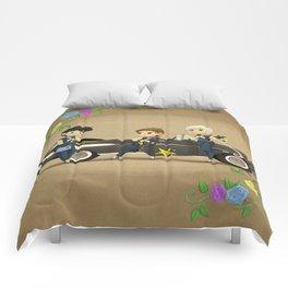 Retro Sailor Starlights Comforters