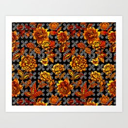 Flowers Power Art Print