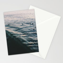 Searching the Surf Stationery Cards