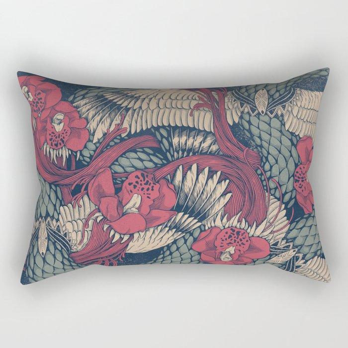 Shedding Skin Rectangular Pillow