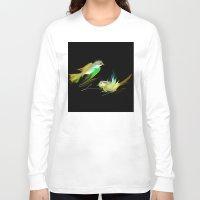 weed Long Sleeve T-shirts featuring weed by tatiana-teni