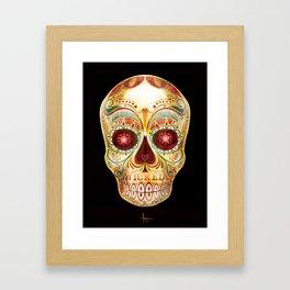 WICKED SKULL Framed Art Print