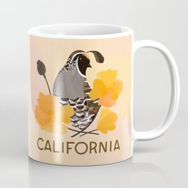 California State Bird and Flower Coffee Mug