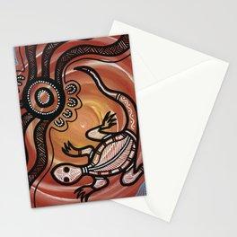Aboriginal Art - Lizard Stationery Cards