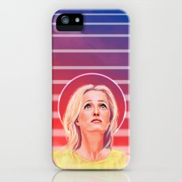 Gillian Anderson - 1968 - No characters iPhone Case