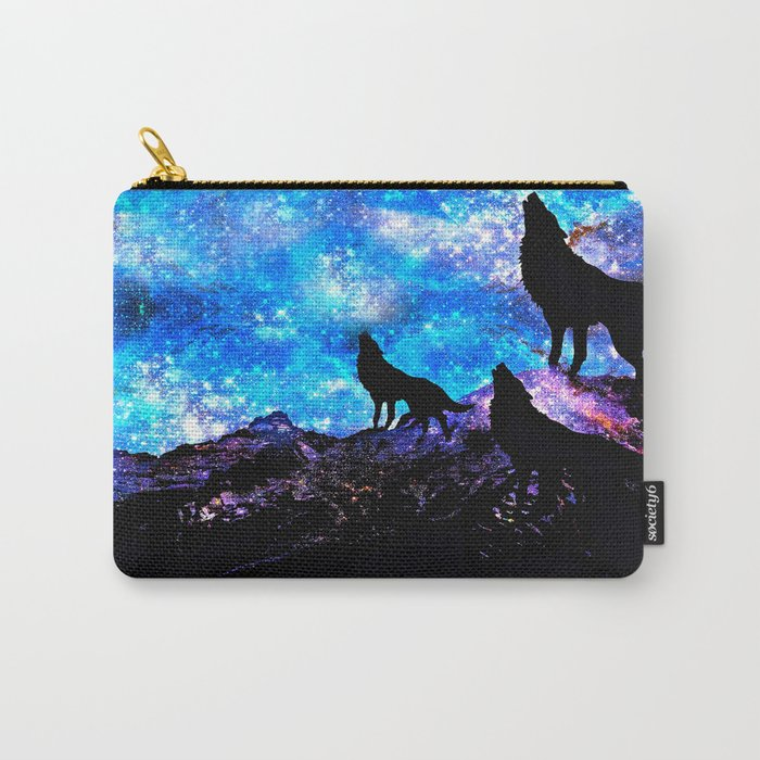 Wolf Trio Carry-All Pouch