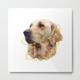 Angelic Doggo Metal Print