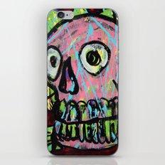 King Skull 2 iPhone & iPod Skin