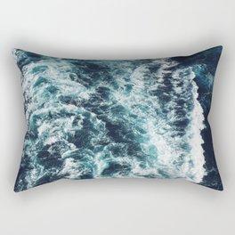 DARK BLUE OCEAN Rectangular Pillow