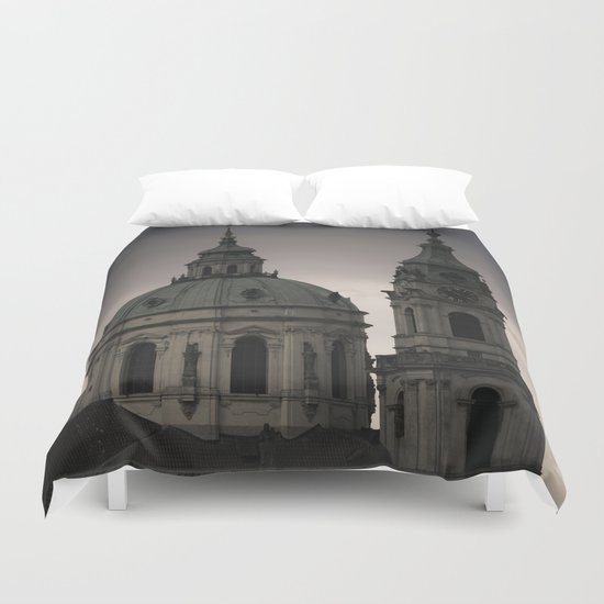 St. Nicholas Church Prague Duvet Cover
