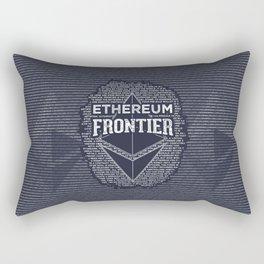 Ethereum Frontier Rectangular Pillow