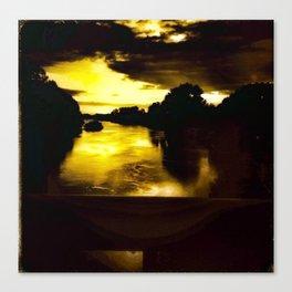 Sunset from the Bridge  Canvas Print