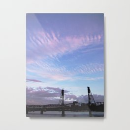 HAWTHORNE BRIDGE Metal Print