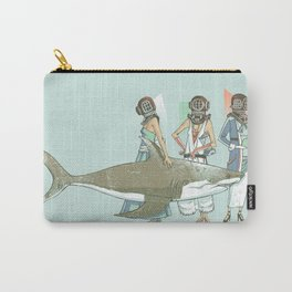 In Oceanic Fashion Carry-All Pouch