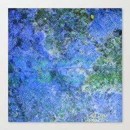 Moment of Epiphany: Royal Blue Version Canvas Print