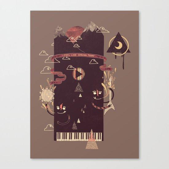 Play! Canvas Print
