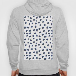 Handmade animal print blue shades Hoody