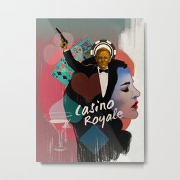 007: Casino Royale Metal Print