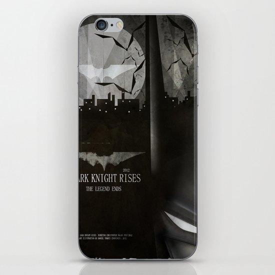 dark knight rises movie fan poster iPhone & iPod Skin
