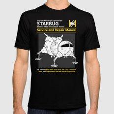 Starbug Service and Repair Manual Mens Fitted Tee Black MEDIUM