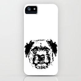 BORDER TERRIER DOG iPhone Case