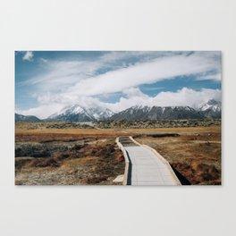 SIERRA MOUNTAINS ADVENTURE Canvas Print