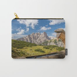 Three Peaks of Lavaredo - Sexten Dolomites Italy Carry-All Pouch