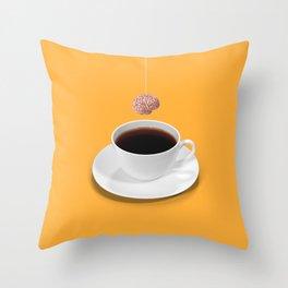 Daily dose of Creativi-tea Throw Pillow
