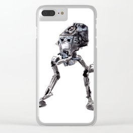 AT-ST Walker Clear iPhone Case