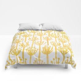 Golden Dandelions Comforters