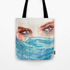 Forgotten, watercolor painting Tote Bag