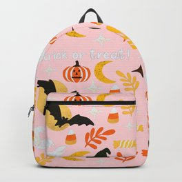 Halloween Cheer in Pink Backpack
