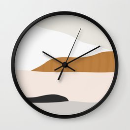 Minimal Art Landscape 2 Wall Clock