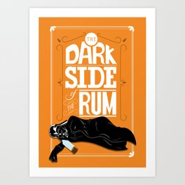 come to the dark side we have parties Art Print