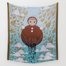 The Roly Poly Doll Wall Tapestry