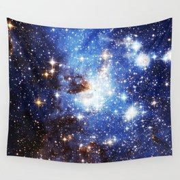 Blue Galaxy Wall Tapestry