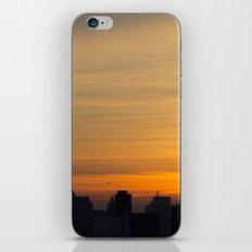 skyline brushstrokes iPhone & iPod Skin