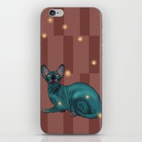 sphynx iPhone & iPod Skins featuring Sphynx by Illness