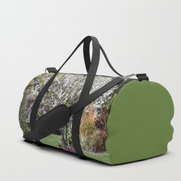 Spring Country Garden Duffle Bag